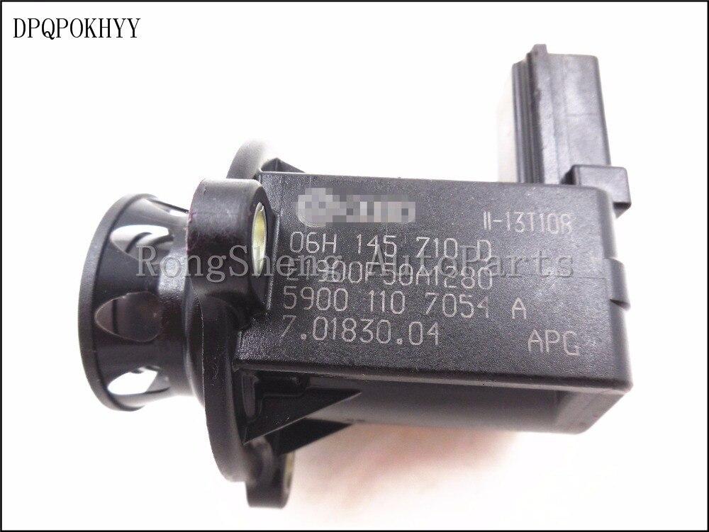 DPQPOKHYY OEM Turbo Cut off Valve Turbocharged breaker For Volkswagen Golf MK6 MK5 Passat B6 06H145710D 06H 145 710 Dbreaker   -