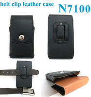 Leather Pouch Holster Belt Clip Case For Galaxy Note 2 N7100 Apply To Mountain Climbing Camping
