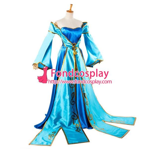Lol Sona Maven du jeu de robe de cordes Costume Cosplay sur mesure [G933] - 3