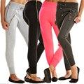Autumn Long Cargo Women's Pants Drawstring Casual Trousers For Women Pantalon Femme Plus Size Pants Women Female Clothing Black