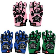 RACING GLOVES FOR COOL YOUTH/PEEWEE KIDS ATV MOTOCROSS MOTORCYCLE OFF-ROAD MX DIRT BIKE GLOVES RACING GUANTES