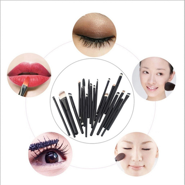 20 pcs Eye Makeup Brushes Set