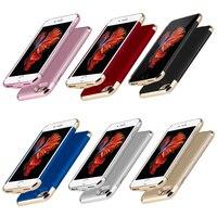Ultra cienki z zewnętrzną ładowarka zapasowa przypadku obudowa ładowarki dla iphone 6 6 s 7 8 Plus X XS etui na powerbank dla iphone 6 6s w Etui z funkcją ładowania baterii od Telefony komórkowe i telekomunikacja na