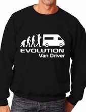 Evolution Of A Van Driver Job Work Unisex Sweatshirt More Size and Color-E123