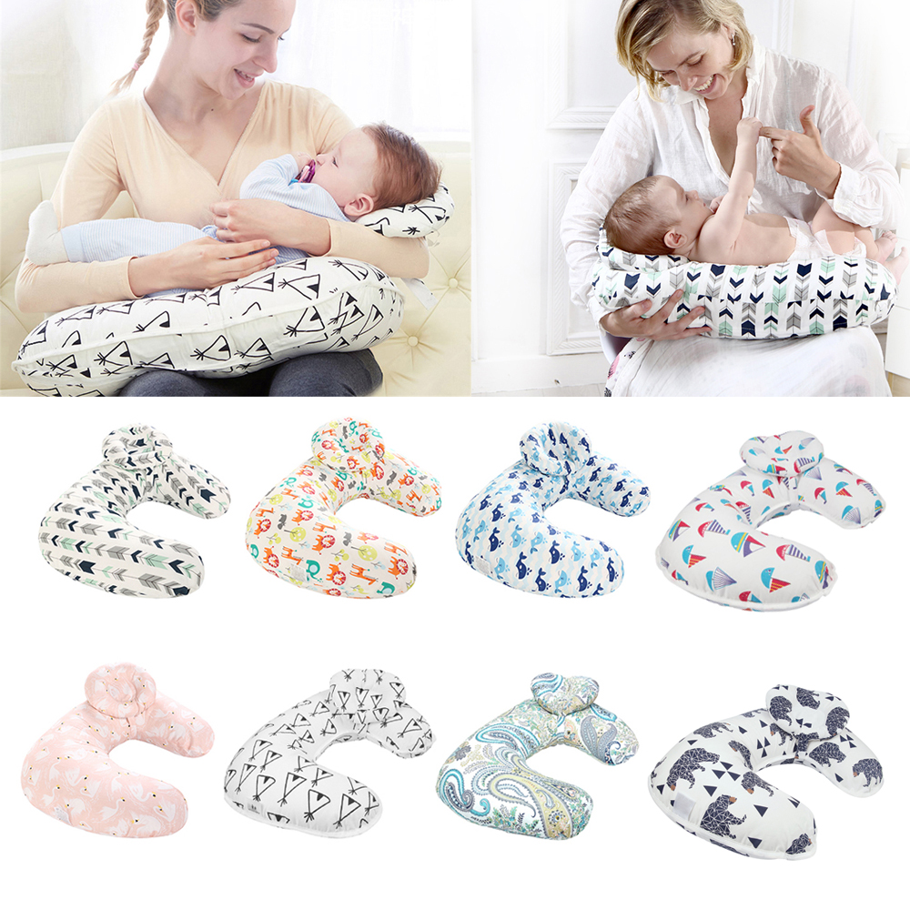 Baby Nursing Pillows Maternity Baby Breastfeeding Pillow Infant Cuddle U-Shaped Newbron Cotton Feeding Waist Cushion For Nursing