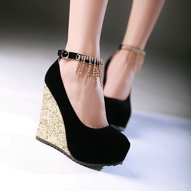 Compare Prices on 4 Inch Wedge Heels- Online Shopping/Buy Low ...