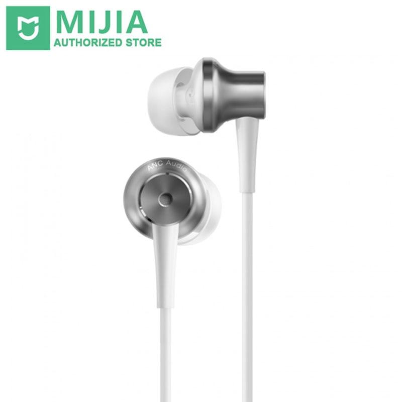 Original Xiaomi ANC Kopfhörer Typ C Noise Cancelling Kopfhörer Verdrahtet Mit Mic Für Xiaomi Max 2 Mi6 Smartphone Hybrid HD