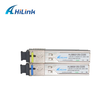 Optical-Transceiver SFP WDM Compatible BIDI 1310/1550nm 20KM 20-Pairs-A-Lot Easy SC/LC