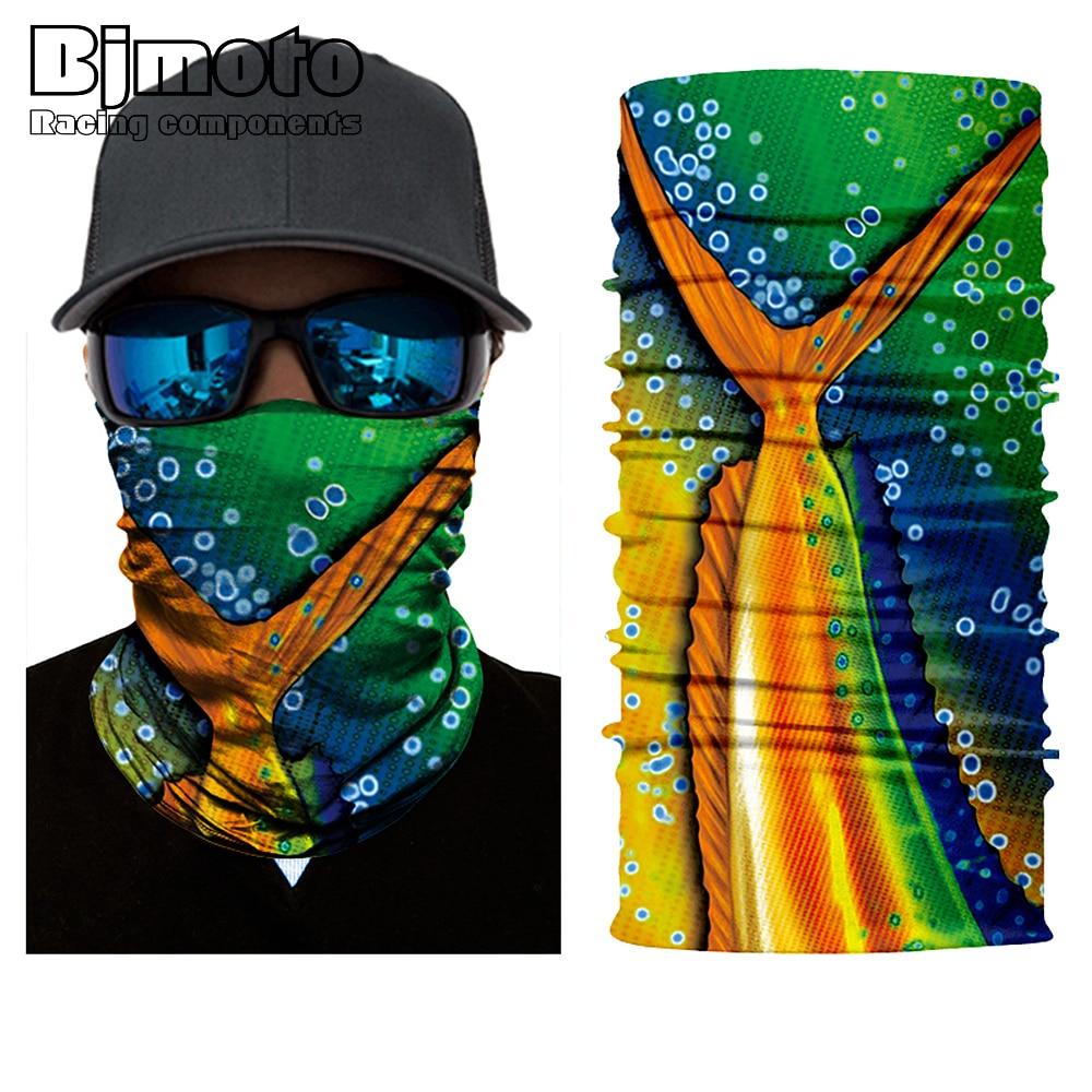 Amazing Mouth Headband Motorcycle Headwear Biker Magic Headscarf Tube neck Hunting Fishing Veil Face Field Drop Shipping