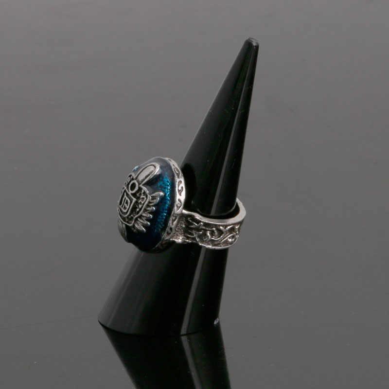 Drop & atacado 1 pc plástico dedo cone fingertip anel suporte de exibição vitrine titular armazenamento apr28