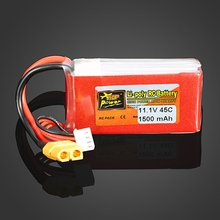 In Stock ZOP Power 11 1V 1500mAh 3S 45C Lipo font b Battery b font XT60