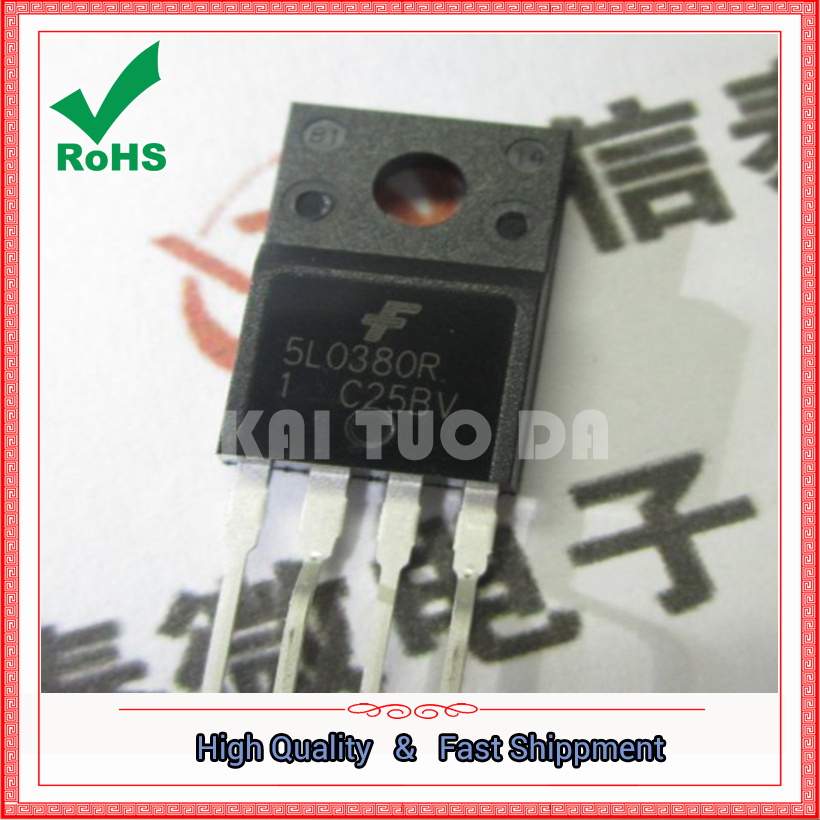 Free Shipping 20PCS 5L0380R KA5L0380R, new Power Management IC power switch FPS 5L0380 (YF60106)