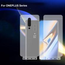 6D Soft Hydrogel Film For ONEPLUS 7 pro TPU Screen Protector nano film for ONEPLUS 6T 6 5T 5 3T 3 TPU Protective Film Not Glass