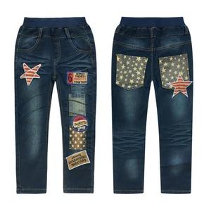 Image 4 - Trẻ em quần jean nam cotton jeans 3 11 Y Mùa Thu teenage Mùa Đông quần denim bé trai casual quần thời trang trẻ em denim quần