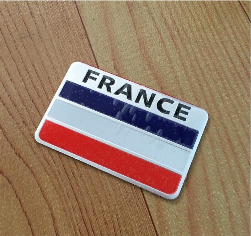 Banderas Nacionales de francia Francés Etiquetas Engomadas Del Coche Accesorios