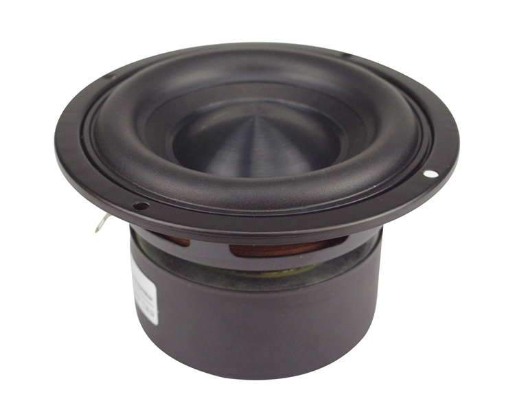 Ceramic Cap 4 inch 116mm Subwoofer Speaker Unit 50W Black Diamond Alumina Cap Woofer LoudSpeaker Desktop Deep Bass NEW 1PCS 11