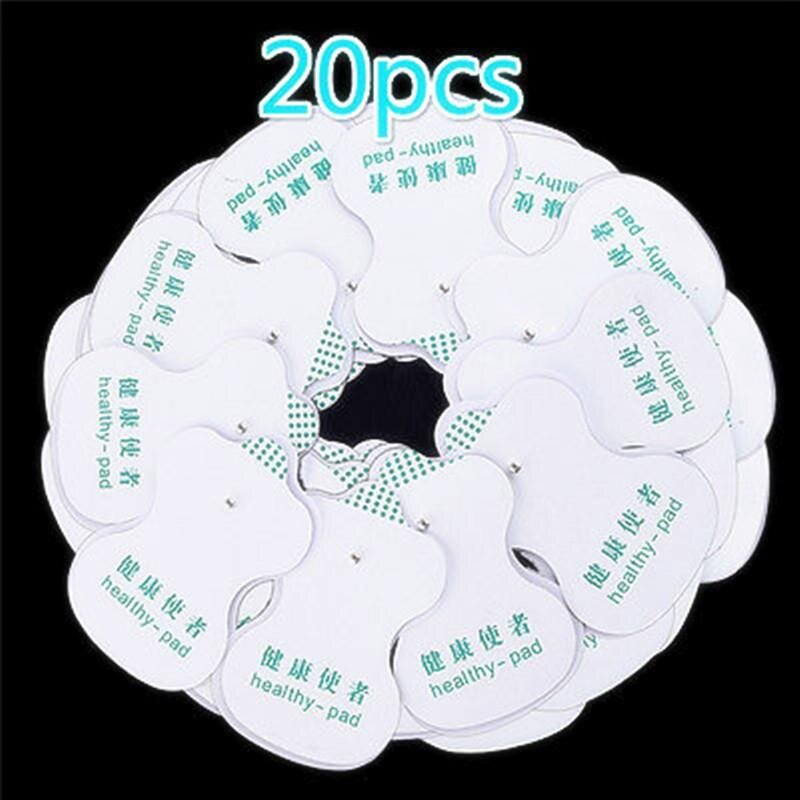 Health Care Electric 20pcs Electrode Pads For Tens Digital Therapy Body Massager