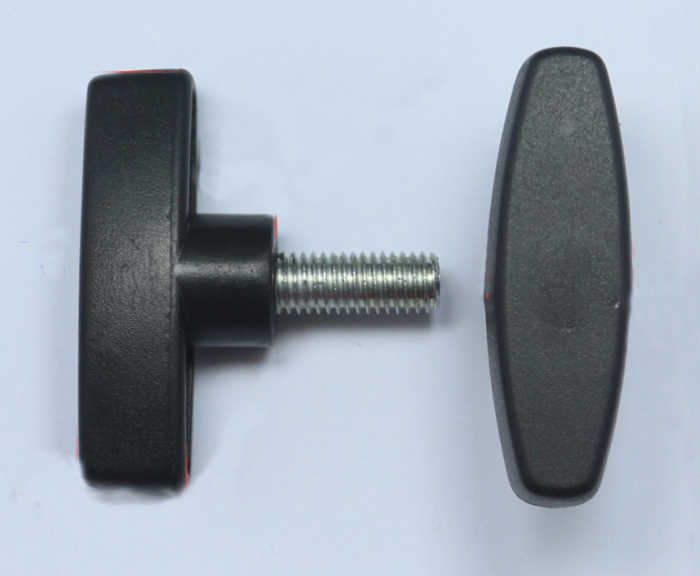 M6 M8 M10 One Font Plastic Head Screws T type Handle Twist Tighten Adjust Bolts whirling rotating Adjust the knob