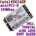 Para Intel 4965 4965AGN sem fio N PCI-E para D420 D430 D520 D530 D620 D630 1520 1530 1730 E1505 E1705