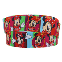 22mm printed grosgrain red ribbon gift wrap ribbons decoration ribbons