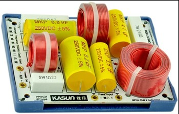 KASUN AS-23C 2 Way 2 Unit Hi-Fi Speaker Frequency Divider Crossover Filters