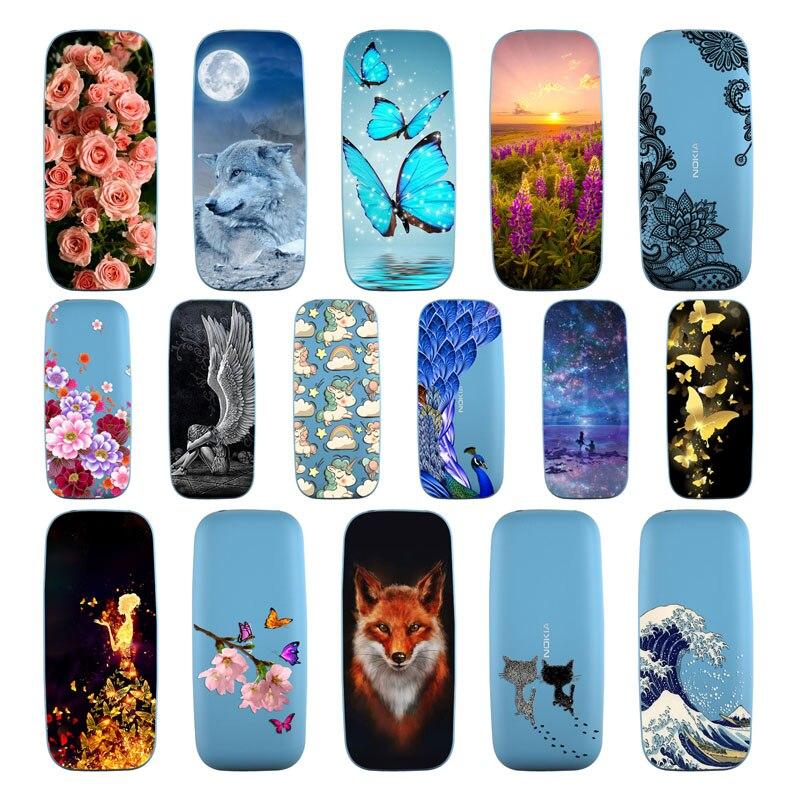 Geruide párr Nokia 105 CASO DE 2017 caso de TPU suave Nokia 105 pintado telefono CASO Nokia 105 DE 2017 cubierta de TPU TA-1010 DE los casos