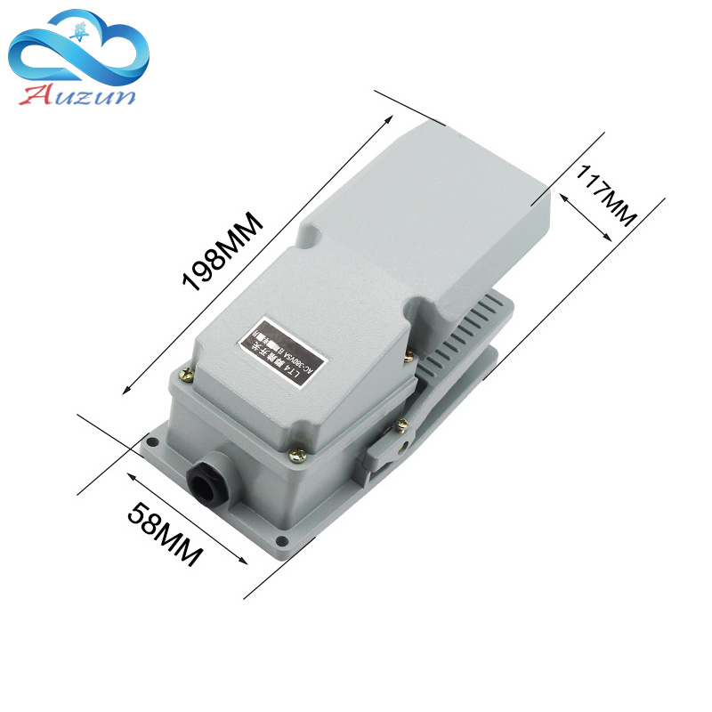 Image 4 - foot switch lt   4 pedal switch machine tool accessories AC 380 v 10a-in Switches from Lights & Lighting