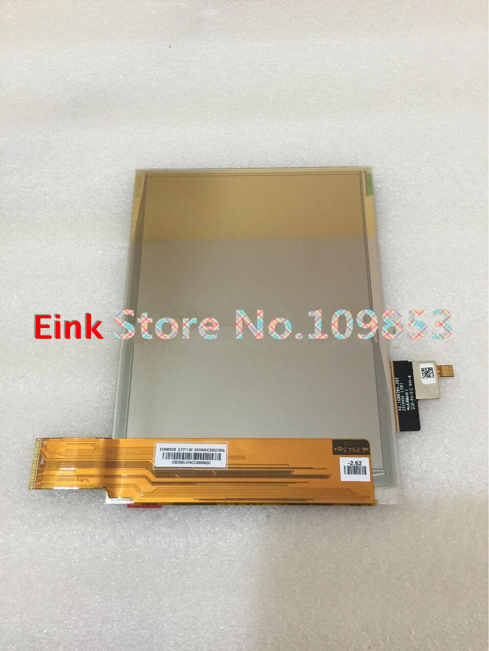 New Original 6 inch ED060XD6 Ebook screen with touch ( no backlight ) pack of  5 brand new original 5 6 inch ltd056et1sd handheld pc screen