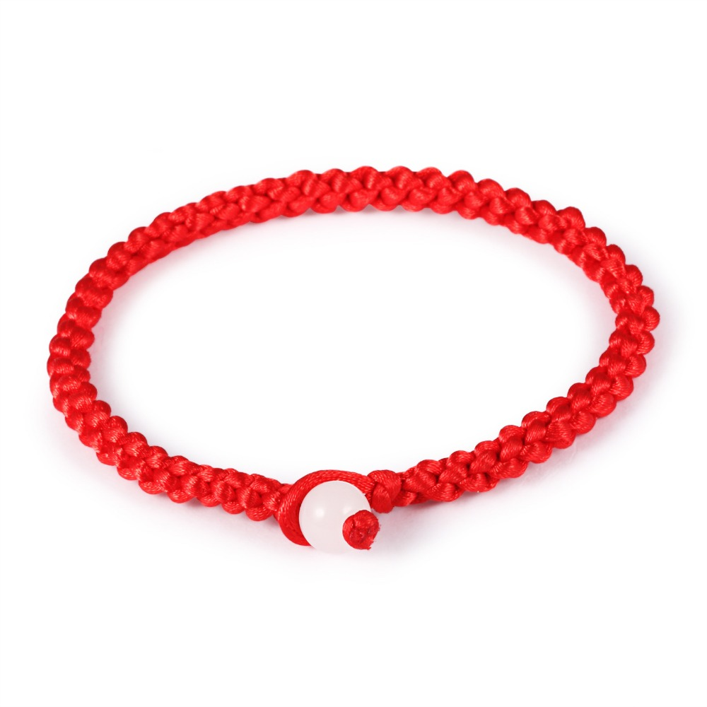 how to make hand bracelet with thread