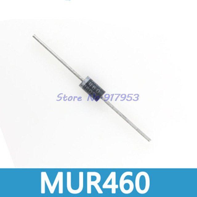 10PCS ON MUR460 Fast Rectifier Diode 600V 4A