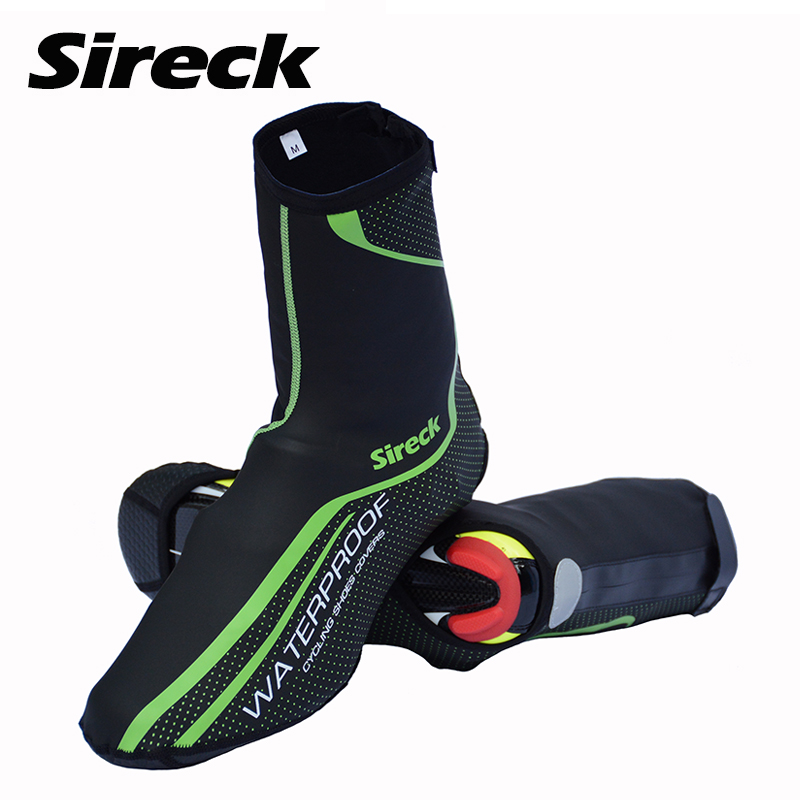 Sireck Waterproof Cycling Shoe Covers Windproof Riding Shoe Cover Protection Road MTB Mountain <font><b>Bike</b></font> Bicycle Overshoes Boot Cover