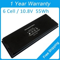 New 55Wh Laptop Battery A1185 For Apple MacBook 13 MA255CH A MA699CH A MA700CH A MA254TA