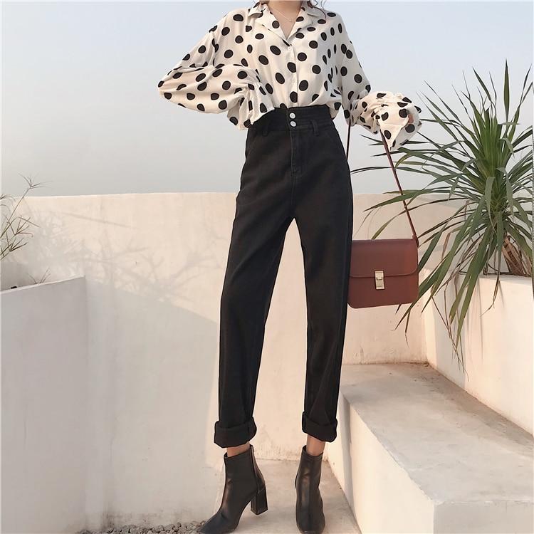 Femminili Dollar Jeans Solido 12