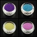 50 г Прозрачный DIY 3D Nail Art Украшение Мини Стеклянные Бусины, крошечные Икра Ногтей Бисер, черный, 0.6 ~ 0.8 мм
