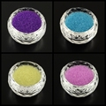 50g Transparent DIY 3D Nail Art Decoration Mini Glass Beads, Tiny Caviar Nail Beads, Black, 0.6~0.8mm