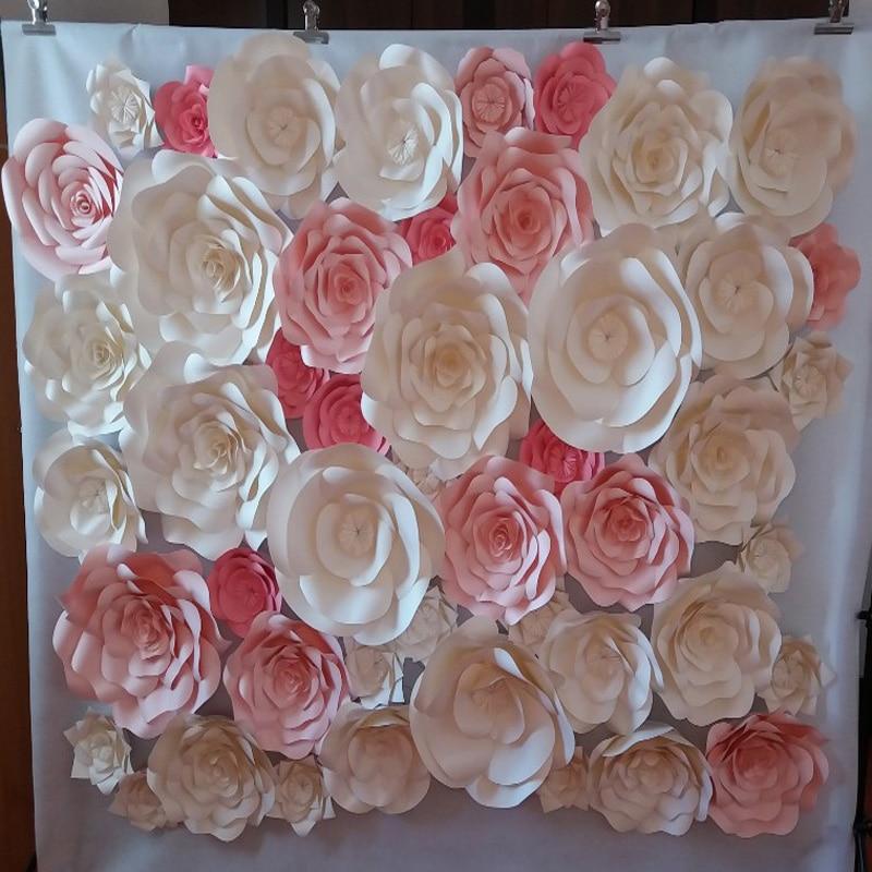 new wedding decorations decorative flowers ceramics vase artificial flowers  cheap silk flowers paper flowers home decoration AliExpress com