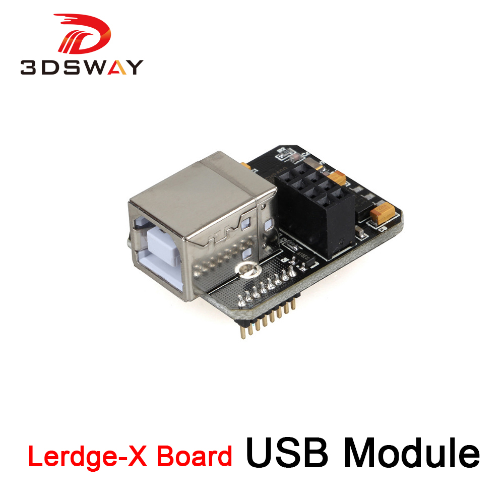 3DSWAY 3D Printer Accessories USB Module PC Online Module WIFI Function Extensible for Lerdge-X Board