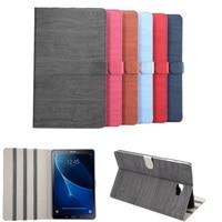 Retro Wood Grain High Quality PU Leather Case For Samsung Galaxy Tab A A6 10 1