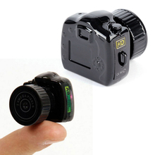 Y2000 Mini Camera Camcorder Full-HD 1080P DVR Micro Camera Portable Webcam Video Voice Recorder Camera camsoy mini camera t190 mini camcorder 1080p full hd micro camera in h 264 with tv out mini dv voice recorder pen camera