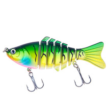 1pcs 10CM 15.5G Swimbait Hard Bait Fishing Lure Quality Professional Isca Artificial Lures Tackle Minnow Accessories