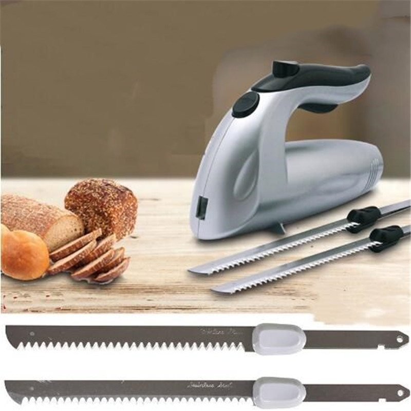 For Sale! Multifunction Electric Knife Bread Cutting Machine Freeze Frozen Meat Cut Saw Slicer Kitchen Appliances Bakeware Tool