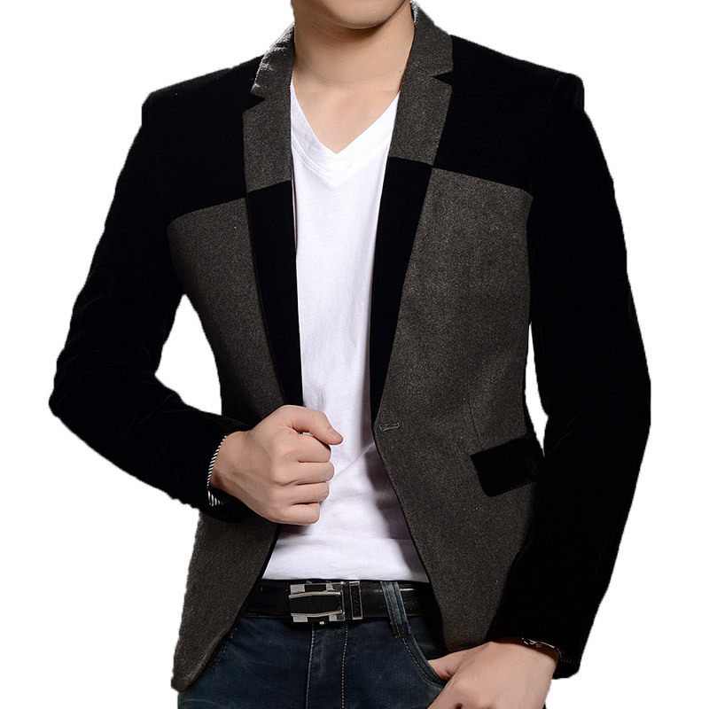 Mens Black Suit Jacket Promotion-Shop for Promotional Mens Black ...