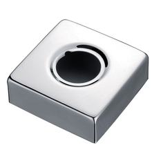 Смеситель для ванной комнаты, смеситель для раковины, смеситель для душа, хром, латунь, изгиб, угол, отверстие, кран, квадратная крышка, пластина SH028