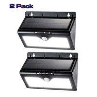 LED Solar Light 46 LEDs Waterproof IP65 Sensor Light Outdoor Light Path Roof Corridor Wall Lamp