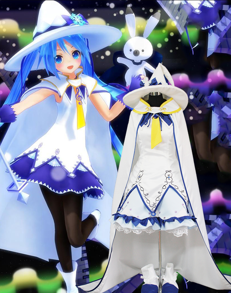 100-real-white-witch-dress-with-cloak-and-hat-cartoon-cosplay-costumes-font-b-hatsune-b-font-miku-magical