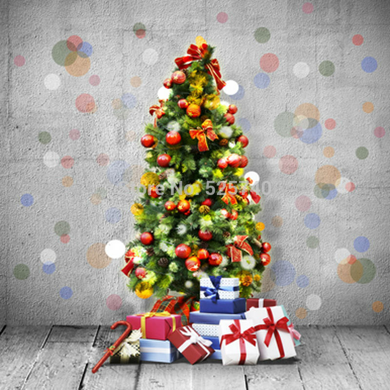 5*7FT 2016 Night Of New Year Backgrounds Christmas Tree Photography Studio Backdrop Washable Backgrounds Free Shipping new york institute of photography