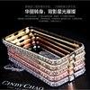 Luxury 3D Crown Handmade Bling Rhinestone Crystal Diamond Metal Aluminum Frame Bumper Case Cover For iphone 6S 6 Plus Alabasta