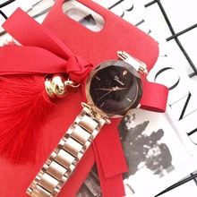 New Arrival Women Shining Crystals Watches Vogue Girls Party Dress Watches Multi-faceted Cutting Special Glass Montre Femme W147