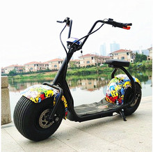 Citycoco Electric Scooter Adult Fat Tire 1000W 60V 12Ah 9.5 Inch Lithium Motorcycle E-Bike Adult Electric Scooter