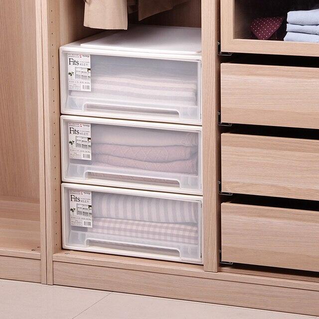Aliexpress.com : Buy 1PCS plastic drawer storage box underwear ...